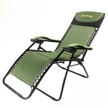 Sun Loungers Outdoor Furniture garden furniture iron beach chair camping chair chaise lounge folding chair quality wholesale new(China)