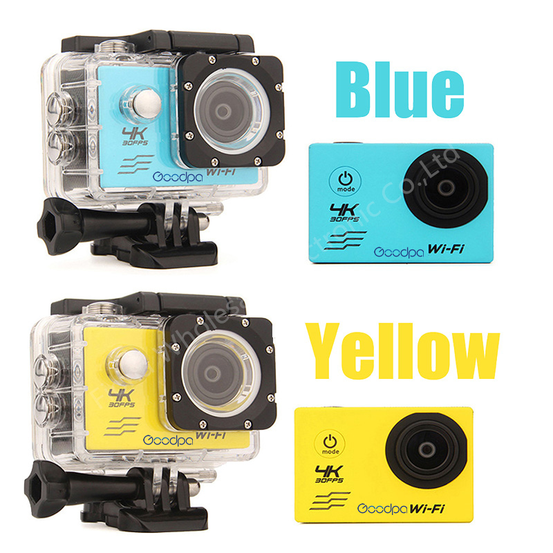 CAMSHOT-Sport-Action-Camera-4K-WIFI-2-0LCD-1080P-60fps-Outdoor-underwater-waterproof-diving-Surfing-cycling