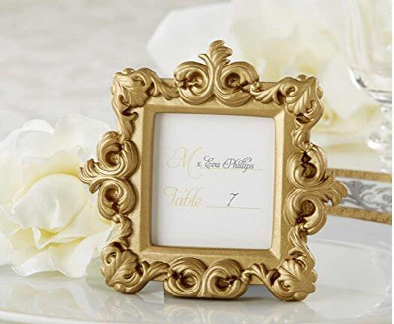 Golden Baroque Style Photo Frame Small Picture Frames Wedding Gift Birthday Party Favor Frame Aliexpress