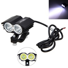 1PCS 12V 36V 30W 3000LM 2x XM L T6 LED Motorcycle Spot Work Light Offroad Driving