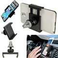 Top Quality Universal Car Air Vent Mount Cradle Cell Mobile Phone Stand Holder For iPhone 6 6 Plus Phone GPS for samsung for htc
