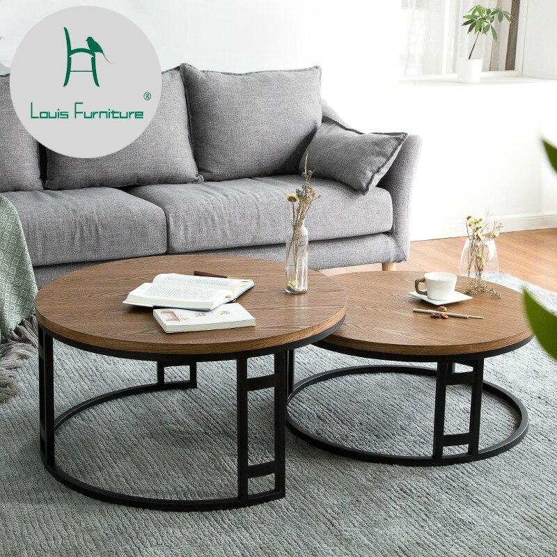 277 35 Louis Mode Table Basse Moderne Minimaliste Design Creatif Meubles Petit Appartement Fonction Scandinave Fer Art Combina In Tables Basses