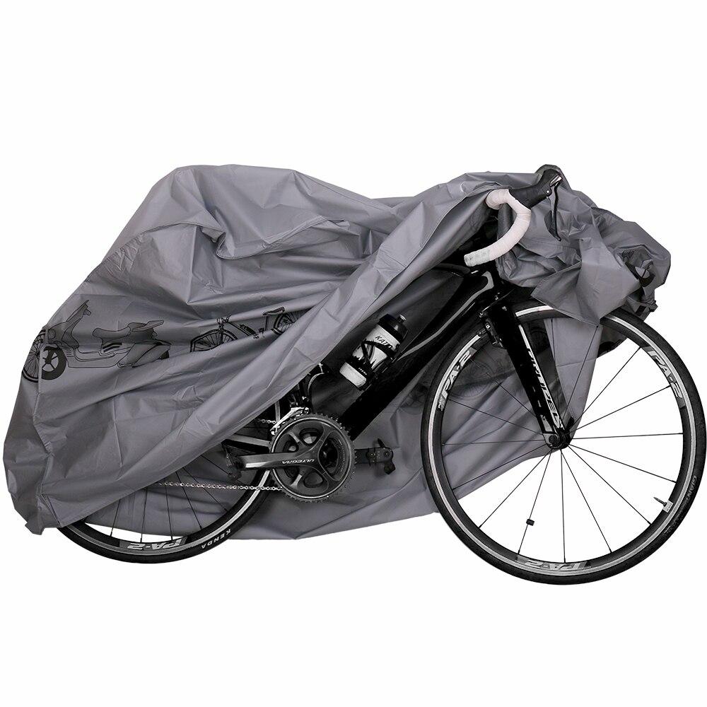 Portátil al aire libre impermeable y a prueba de polvo motocicleta bicicleta de bicicleta equipo de protección de ciclismo con sello Strapes