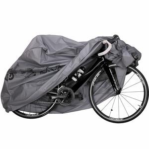 Image 1 - חיצוני עמיד למים וdustproof אופניים אופנוע אופני כיסוי אופניים עם חותם Strapes גשם כיסוי אופני אופניים מים כיסוי