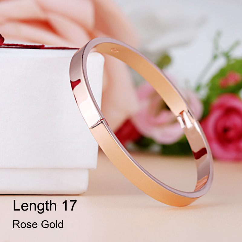 Rose Gold 17CM