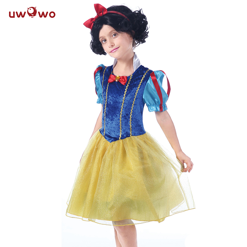 UWOWO Snow White Costume Dress Girls Anime Cosplay ...