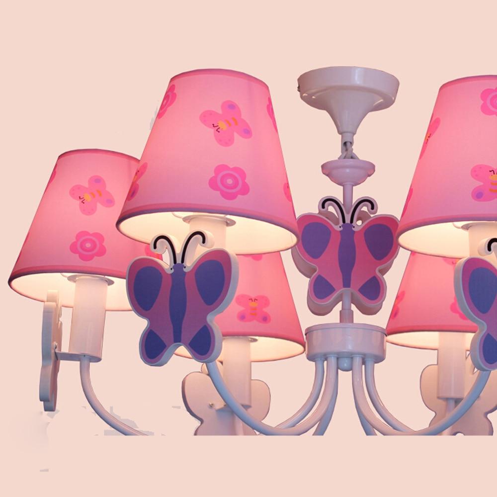 Cartoon Led Chandelier Flower Lustre Led 110V 220V Home Lighting Kids Room Chandelier Baby E14 Led Chandeliers-in Chandeliers from Lights & Lighting    3