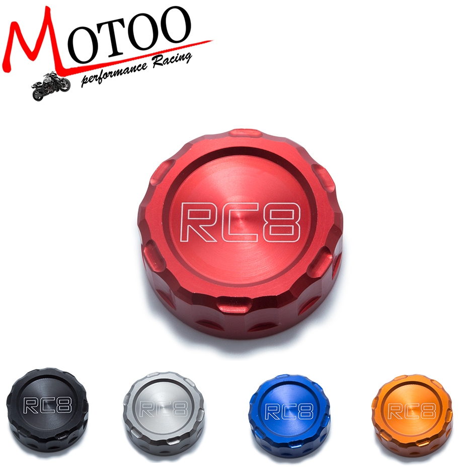 Motoo - FREE SHIPPING Hot sale For KTM 1190 RC8/RC8R Motorcycle Accessories Rear Brake Fluid Reservoir Cap Oil Cup