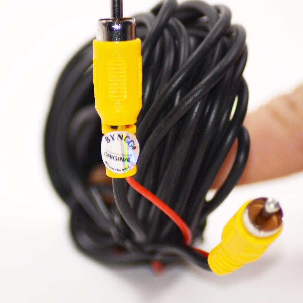 Провод кабель RCA видео кабель 10 м для камеры заднего вида 10 15 20 м RCA видео кабель задний вид автомобиля парковочная камера