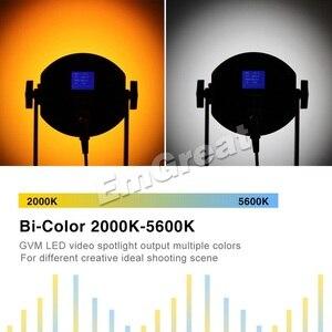 Image 3 - GVM RGB 150S COB RGB Full Color LED Video Light CRI 95+ TLCI 95+ Bi color 2000K 5600K Dimmable for Photography Video Studio DSLR
