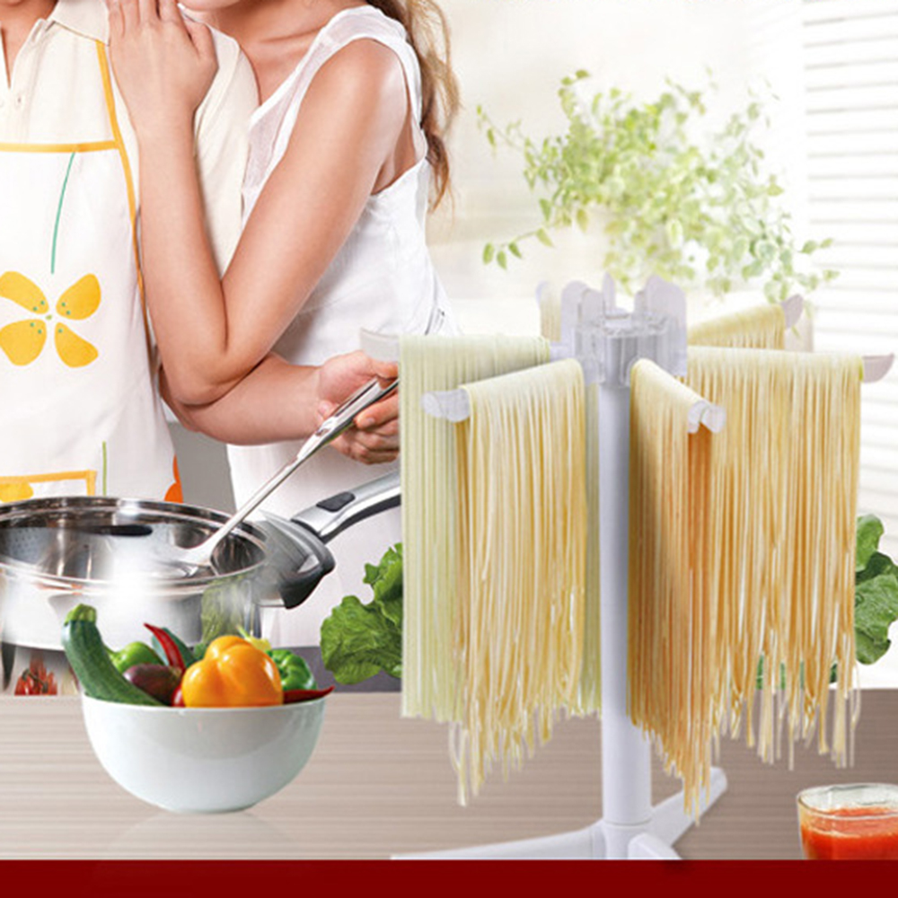 New Household Pasta Drying Rack Spaghetti Dryer Stand Noodles Drying Holder Hanging Rack Pasta Cooking Tools Kitchen Accessories image