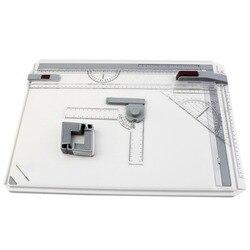 Портативная А3 доска для рисования, стол с параллельным движением, регулируемый угол, чертеж, художественная живопись, инструменты для рисо...