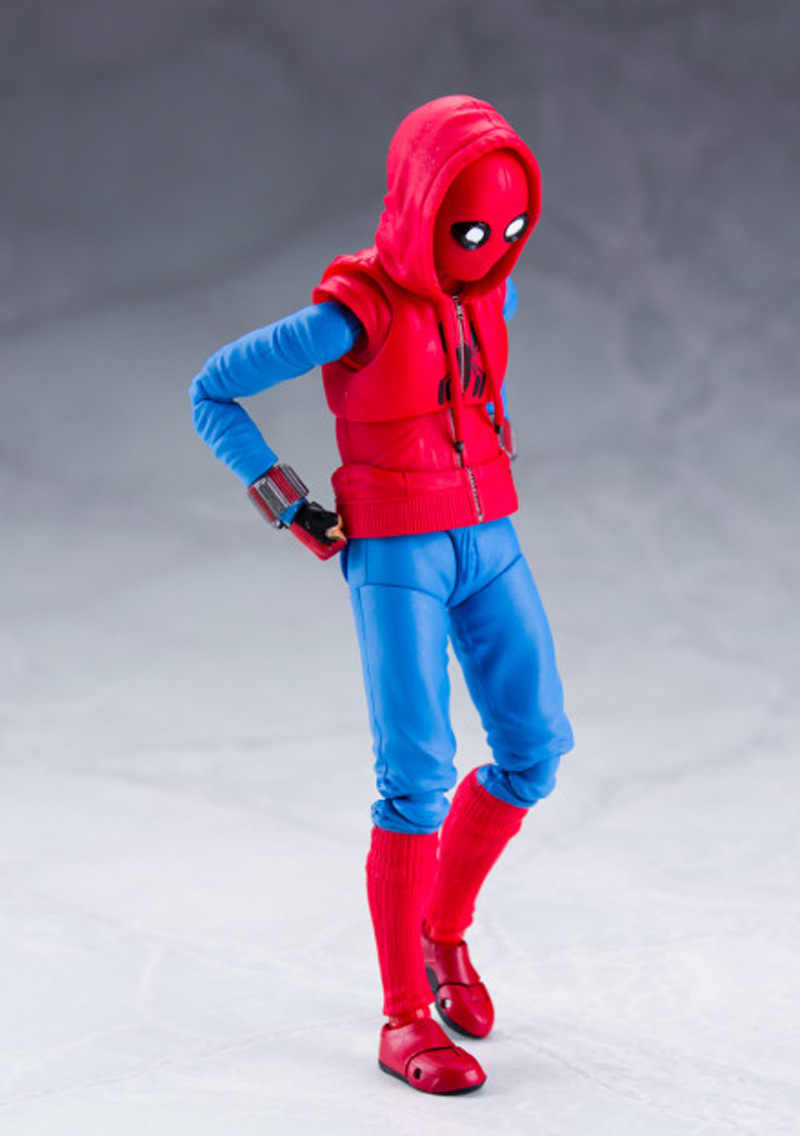 SHF Spiderman Action Figure Giocattolo Spider-Man Ritorno A Casa PVC Figura Mobile Figurine Collection Modello