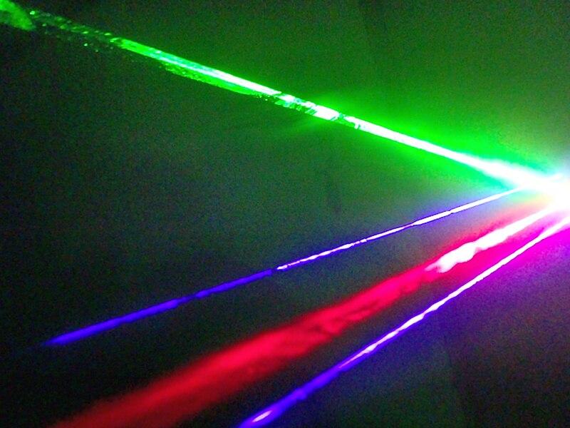 Freies Verschiffen 3 Farbe LED Laser Handschuhe Grün Blau Rot Licht - Partyartikel und Dekoration - Foto 5