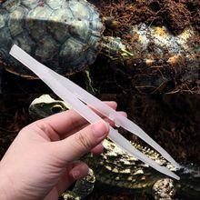Рептилий Пинцет noctillucence зажим для кормления щипцы живого питания зажим для кормления