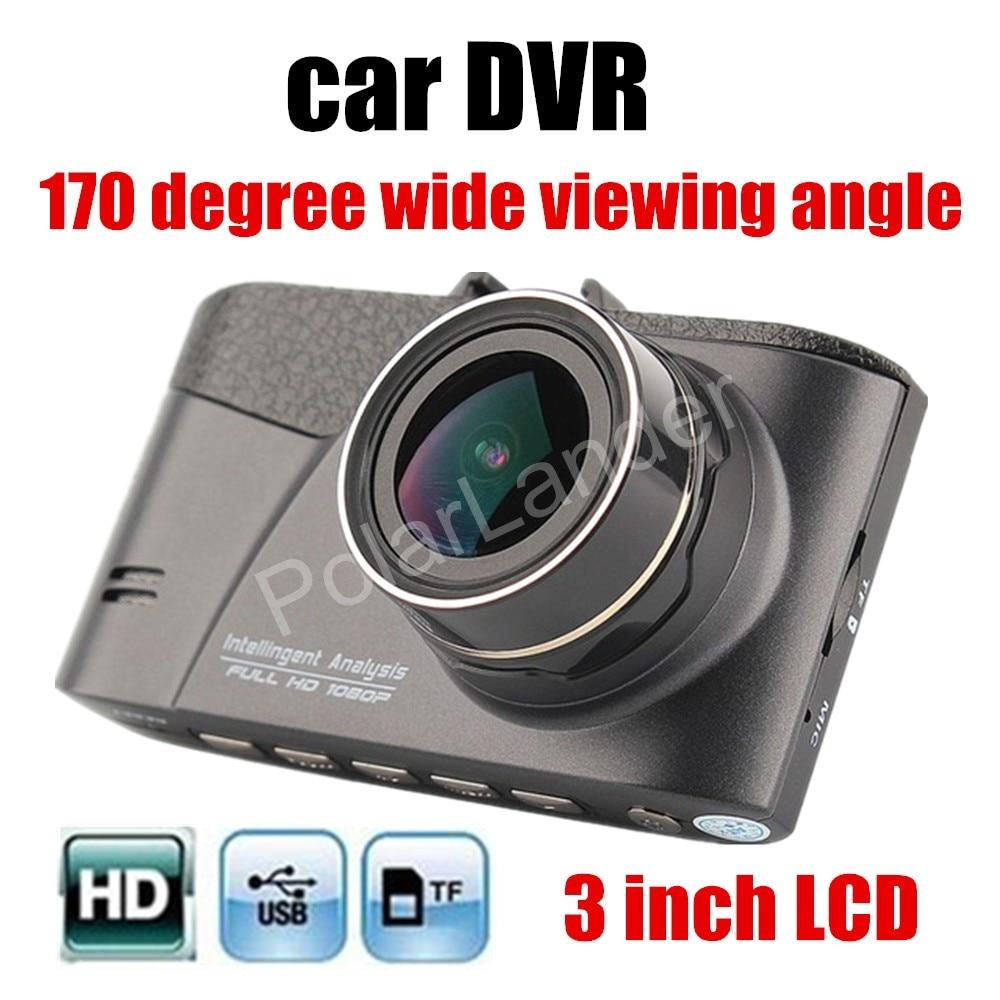 Hot Mini 3.0 pouces Full HD voiture DVR caméra Dashcam numérique enregistreur vidéo Vision nocturne caméra de tableau de bord