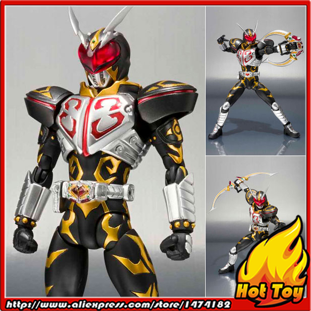 100% Original BANDAI Tamashii Nations S.H.Figuarts (SHF) Action Figure - Chalice from Masked Rider Blade