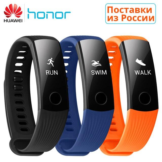 Huawei Honor Band 3 смарт браслет поддерживает плавательный Vs
