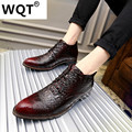New 2017 Fashion PU Leather Loafers Men Shoes Business Work Oxfords Men Flats Warm Fur Mens Shoes Casual Size 39-44