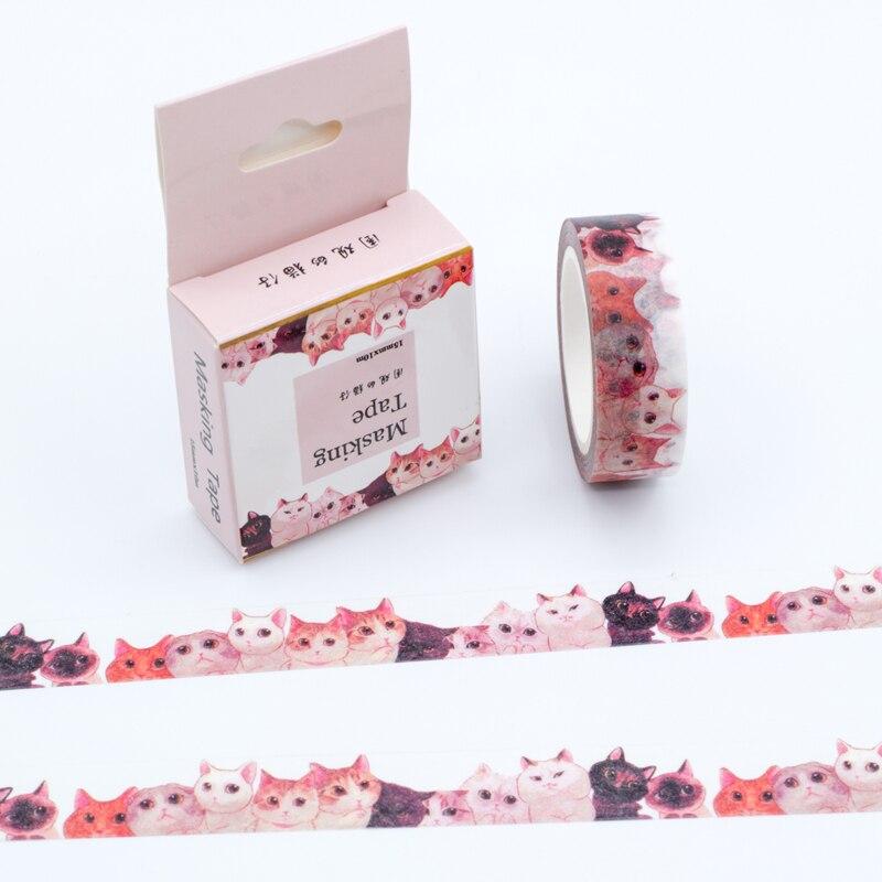 Alice Card Game Rose Washi Tape Scrapbooking Sticker Label Masking School Trend