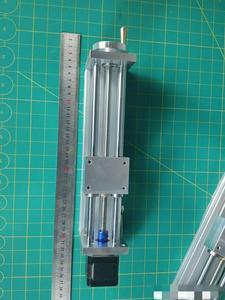 Image 5 - Шаговый электродвигатель NEMA17/23 с ЧПУ, направляющая по оси Z для 3D принтера Reprap, запчасти с ЧПУ, дорожный ЧПУ роутер 170/270 мм, Линейный Привод движения