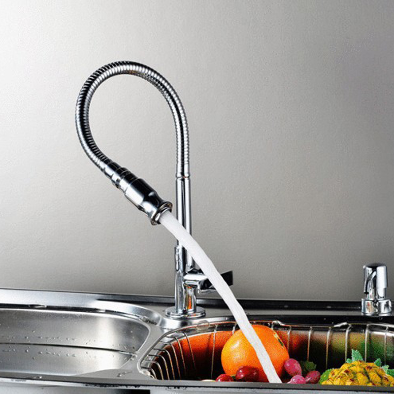 Free Shipping  The Tap For Kitchen Rotate 360 Degrees Any Folding Cold Water Tap Kitchen BR-9103