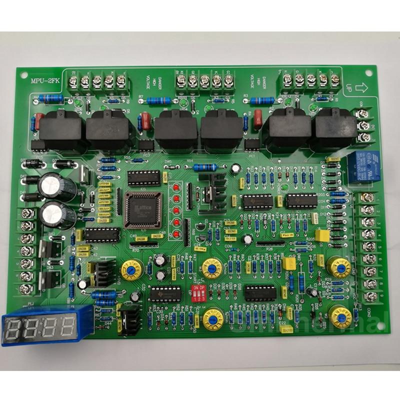 все цены на  MPU-2FK  Mid Frequency induction heat cast furnace Main Control card board  онлайн