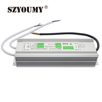 SZYOUMY Transformer AC100 240V to DC24V Waterproof IP67 Power Supply 24V 6.25A 150W Led Driver For Strip Industrial Equipment