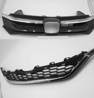 A set For Honda crv cr v 2016 2017 Perfect Match Front Grills Racing Grille