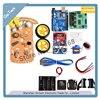 Nouveauté moteur de suivi Robot intelligent voiture châssis Kit encodeur de vitesse boîtier de batterie 2WD module à ultrasons pour Arduino