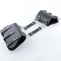 SODANDY Arm Restraints PU Leather Upper Arm Cuffs Bondage Sex Toys Sex Slave Femdom Bondage Gear Adult Game