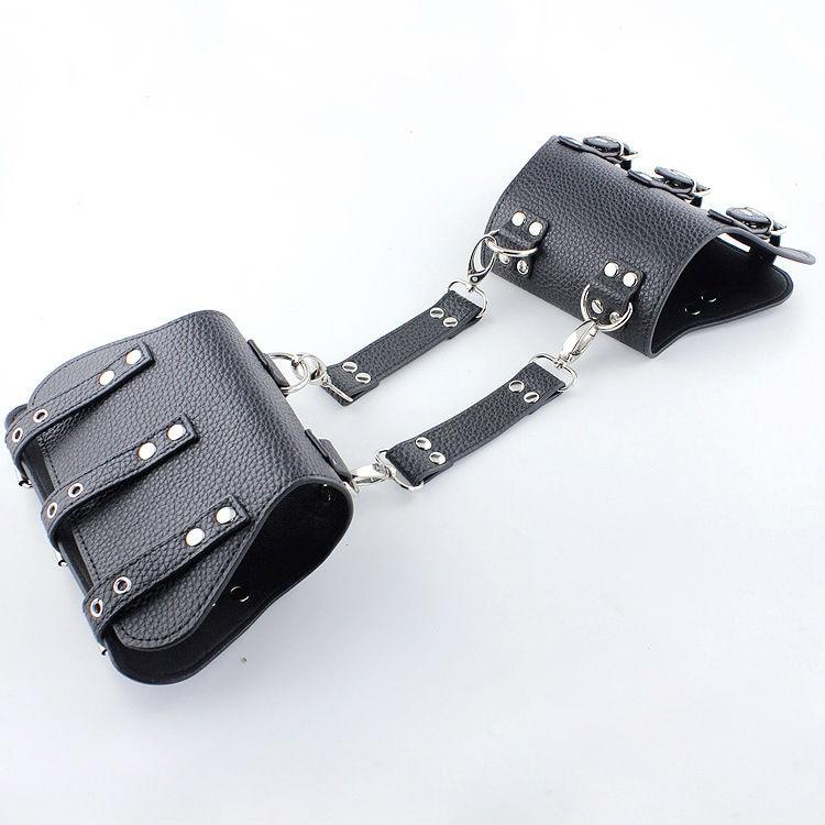 SODANDY Arm Restraints PU Leather Upper Arm Cuffs Bondage Sex Toys Sex Slave Femdom Bondage Gear Adult Game