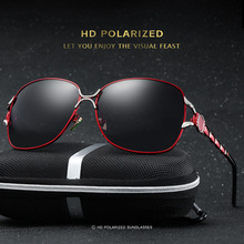2017 Women Brand Driving Sunglasses Women Polarized Fashion Sun Glasses Pilot Butterfly Frame oculos de sol Vintage Driver Use