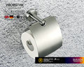 VIBORG Deluxe SUS304 Stainless Steel Wall Mounted Mount Tissue Paper Holder Toilet Paper Roll Holder, satin nickel