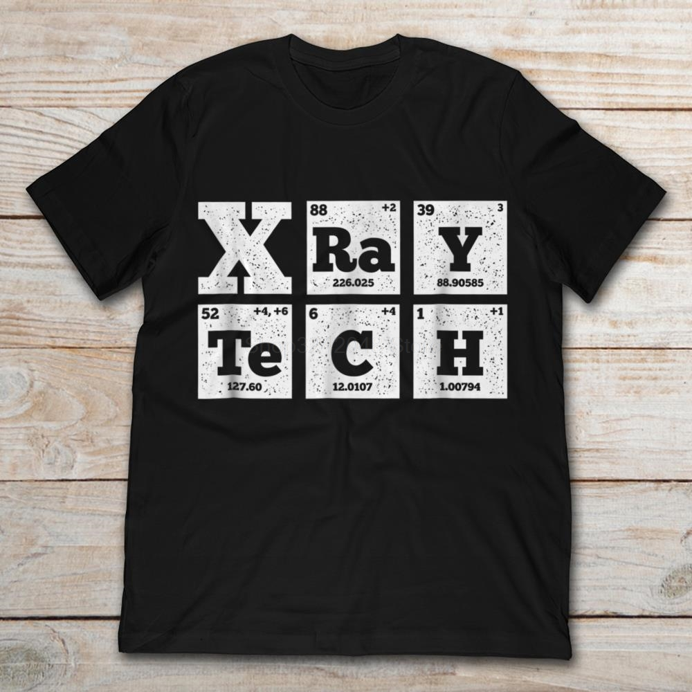 Periodic Table Radiologist Xray Tech T-SHIRT Men's Short Sleeve T-Shirt