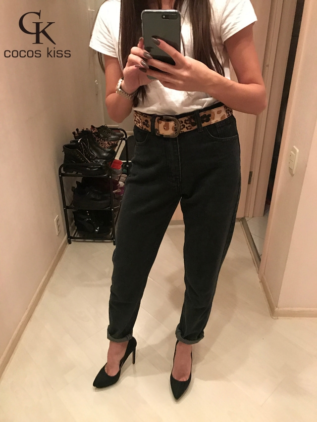 16 Fashion High Waist retro jeans High Elastic plus size Women Jeans woman femme washed casual skinny pencil Denim pants 19