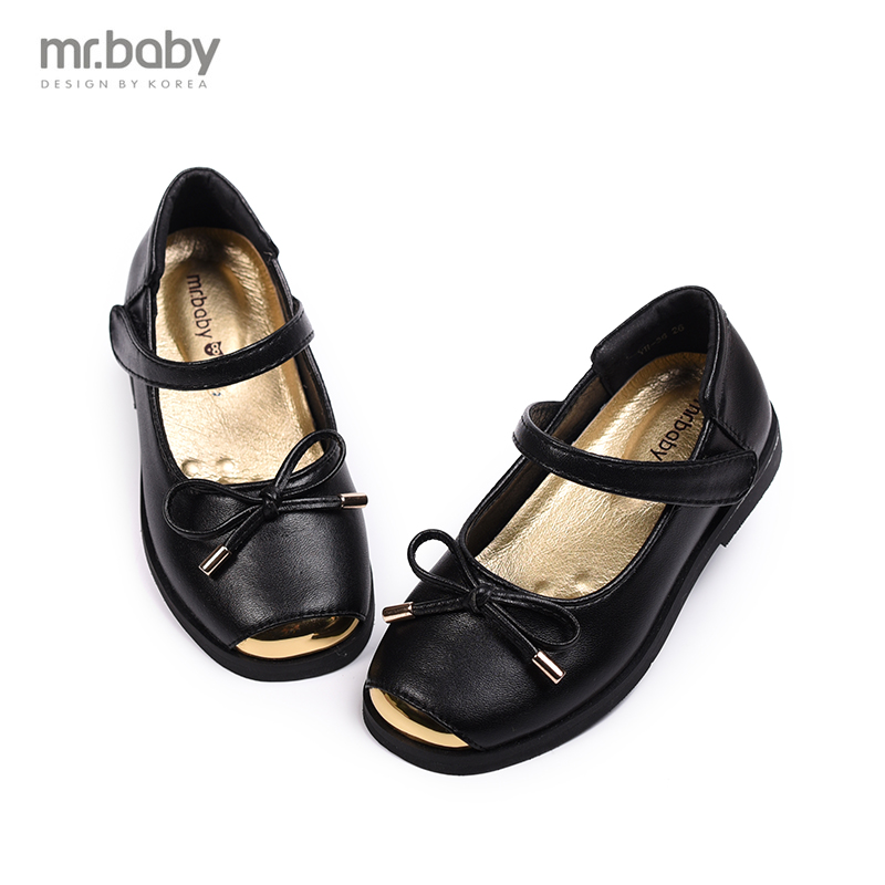 Mr.baby spring new Korean fashion female shoes metal girls shoes