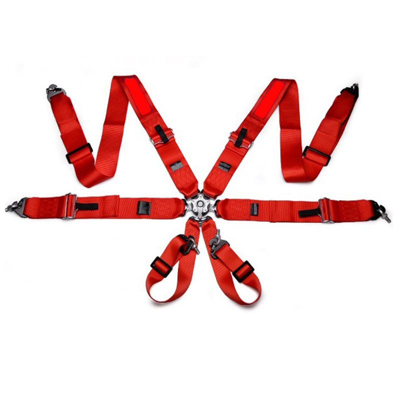 Hot Sale New 1 Pcs 3'' 6-Point Racing Seat Safe Belt With FIA Approved Expiry 2022 Harness Spr03