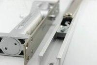 Wholesale Household Upscale Zinc Alloy Invisible Hidden Hydraulic Door Closer Door Shutter With Two Speed Adjustment