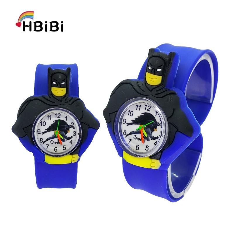 Children's Watches Batman Kids Wrist Watches For Kid Baby Toy Watch Men Clock Quartz Watches For Girls Boys Gifts Relogio Montre