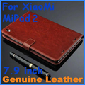 Genuíno caso de couro capa do flip caso de couro de alta qualidade xiaomi mipad2 para o caso tablet mipad 2 da tampa do caso xiaomi mi pad 2 PC