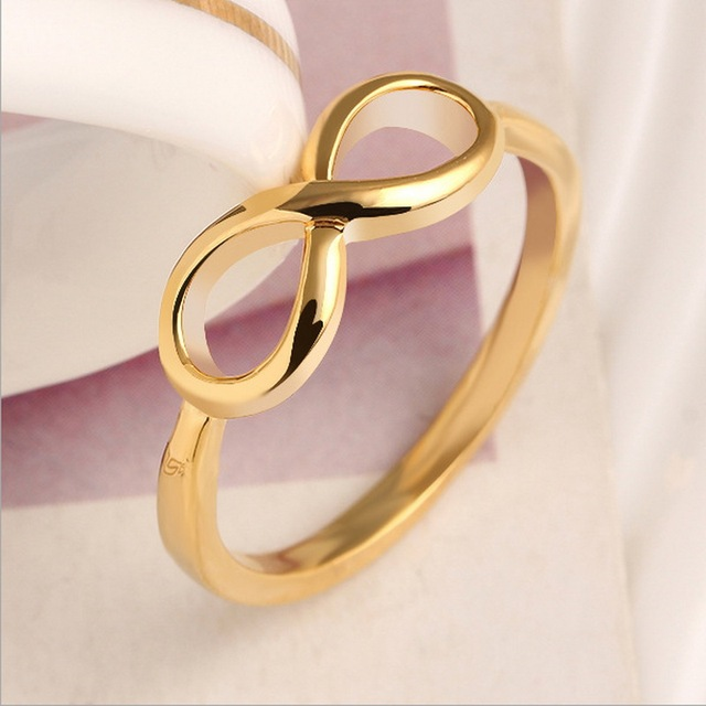 Aliexpress Buy Hot 1pcslot Sterling Gold Infinity Rings Best