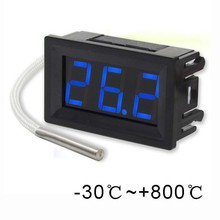 -30-800 celsius degree high accuracy 12V thermometer