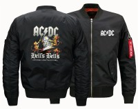 USA size 2018 NEW Flight Jacket ACDC Pilot High Quality clothing mens Air Force Men Bomber baseball Jacket