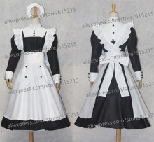 Japanese anime Black Butler Kuroshitsuji Mey Rin Cosplay Costume Custom Made costumes for women