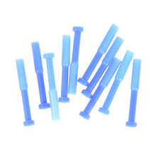 10PCS 4MM Blue Nylon Pneumatic Blanking Plug Hose Tube Push Fit Connector Air Line(China)