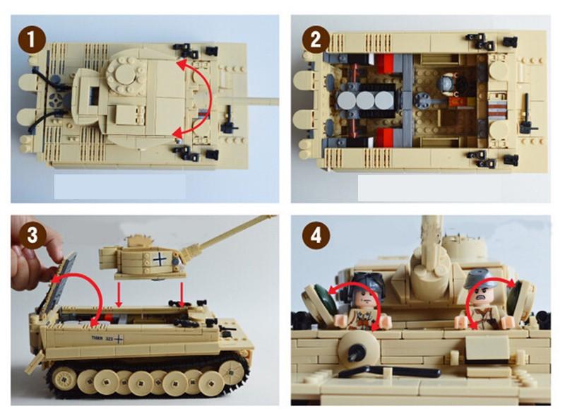 995pcs-Century-Military-Building-Blocks-German-King-Tiger-Tank-Model-Enlighten-Blocks-Education-Toys-Compatible-TY0052 (2)