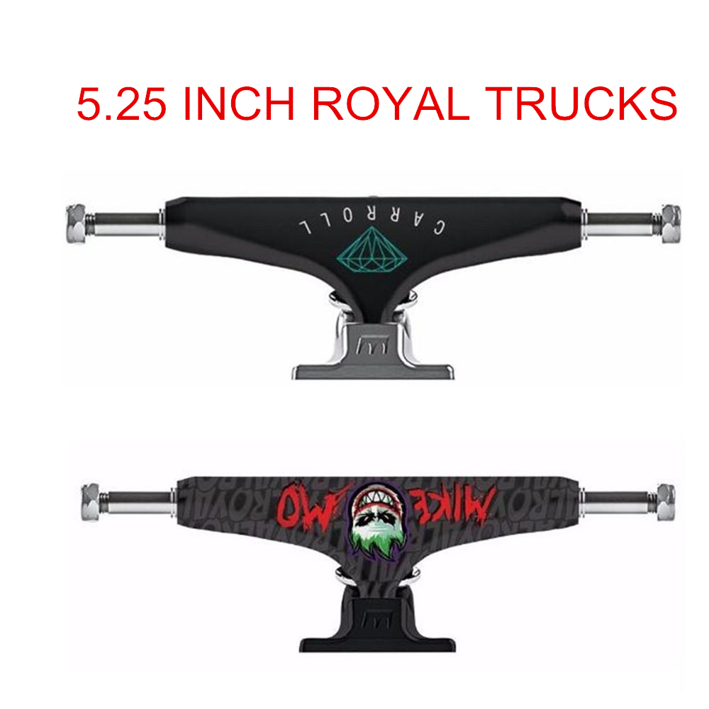 "Pro 5/5.25""/5.5""/6""/7"" Brand Mixed Skate Truck For Skateboard Element Royal MIKEMO/CARROLL Made By Aluminum For Skateboarding"