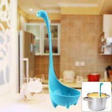 Kitchen Dinosaur Spoons Soup Loch Ness Ladle Long Handle Spoon 1 Pcs