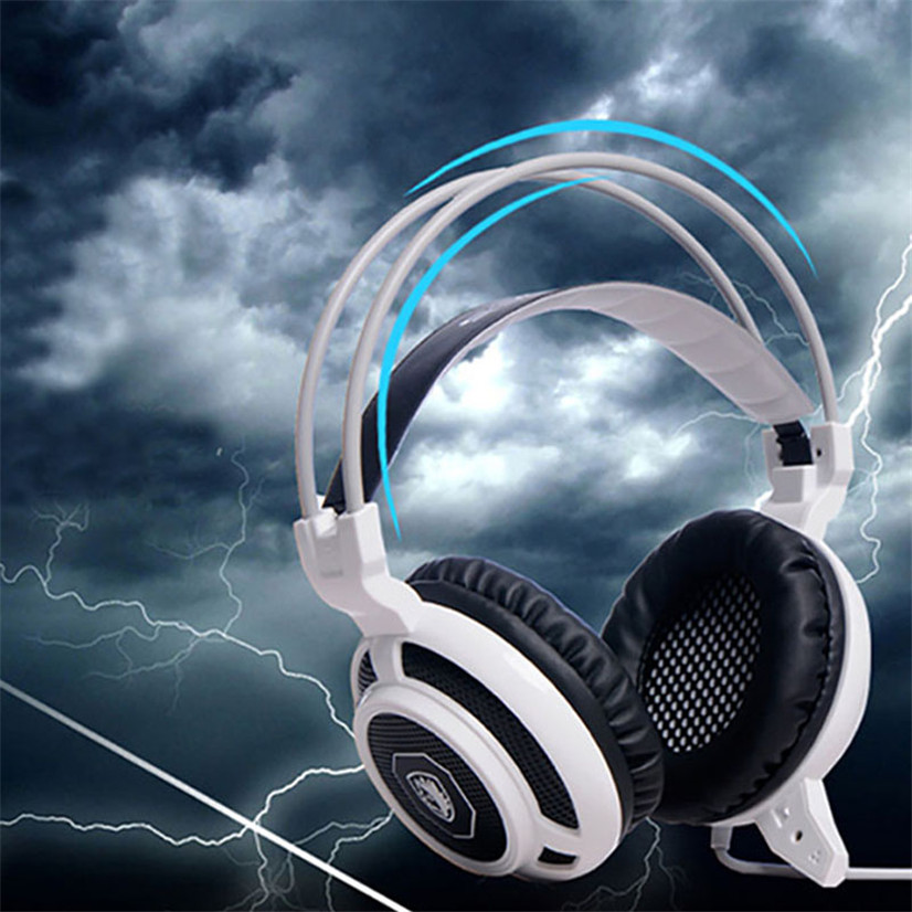 BINMER Futural Digital  SADES Surround Stereo Pro Gaming Headset USB Headphone With Mic For PC Drop Shipping F25 sades a60 alloy stereo 7 1 surround pro gaming headphone usb headband pc noteboo